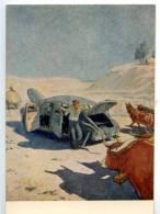 153149 Fable Broken Old CAR By SEMENOV Old Russian Soviet PC - Other Illustrators