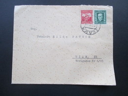 Tschechoslowakei 1928 MiF Mit Rückseitigem Papiersiegel Zinkfarbenfabriken In Peterswald Und Koseca CSR - Tschechoslowakei/CSSR