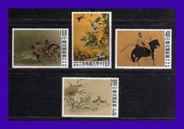1960 - China - Taiwan - Formosa - Sc. 1261 - 1264 - MNH - CH- 013 - Ungebraucht