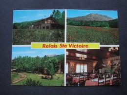 CPSM 13 - BEAURECUEIL - RELAIS DE SAINTE VICTOIRE - RESTAURANT - France