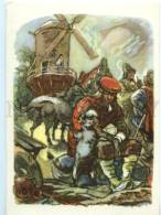153297 Perrault Puss In Boots MILL By TAUBER Old Russian PC - Other Illustrators