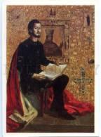 154639 Shota RUSTAVELI Georgian National Epic Poem Old Rus PC - Professions