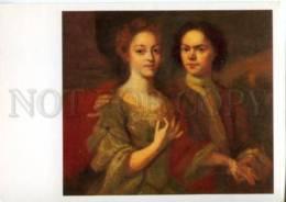 154646 Self-Portrait MATVEYEV Russian Painter Wife Old ColorPC - Other Illustrators