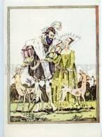 153321 Perrault Bluebeard GREYHOUND By GOROKHOVSKY Old Rus PC - Other Illustrators