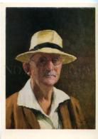 154658 Self-Portrait Igor GRABAR Russian Painter Old Color PC - Other Illustrators