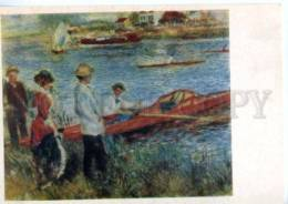 154662 Rowing By RENOIR Old Postcard - Other Illustrators