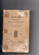 Annuaire Des 5 Departements  De La Normandie  1860 - 1801-1900