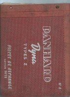 Important Catalogue Pièces De Rechange Panhard Dyna Type Z , EDITION 1958  Lire Description -  Kub28 - Auto