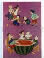 153377 China LUBOK Huge Watermelon By Zhang Le-ping & Te Wei - Asia
