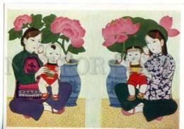 153378 China LUBOK Peace & Happiness By Tsan Ying-kuei OLD PC - Asia