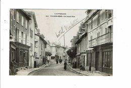 Cpa VIC SUR CERE Auvergne Grand Rue Tailleur Julien Pharmacie Hotel Vialette 213 - France