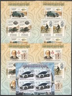 Y113 2012 BURUNDI CARS 150E ANNIVERSAIRE D'OPEL 5KB MNH - Cars