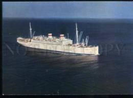 154715 USSR Steamship ADMIRAL NAKHIMOV Old Photo PC - Ships