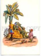 153396 Telephone Dressed Crocodile By KONASHEVICH Old Rus PC - Dressed Animals