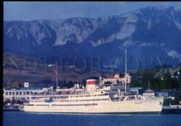 154717 USSR Turbo-electric Powered Passenger Ship ABKHAZIA OLD - Ships