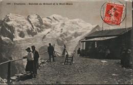 Chamonix Sommet Du Brevent Et Le Mont Blanc - Chamonix-Mont-Blanc