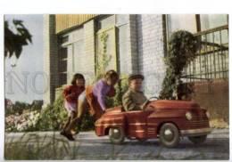 154841 Semey Kazakhstan SEMIPALATINSK Kids In CAR Kindergarten - Kazakhstan