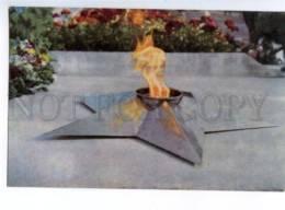 154851 Semey Kazakhstan SEMIPALATINSK Flame Mass Grave OLD - Kazakhstan