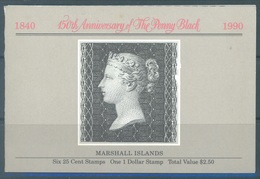 MARSHALL - 1990 - BOOKLET MNH/** - 150TH ANNIVERSARY PENNY BLACK  - Mi 288-294 Yv C287 - Lot 16783 - Marshall