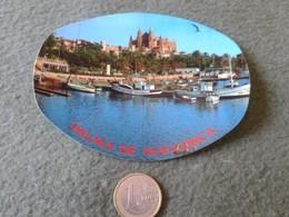 ANTIGUA PEGATINA ADHESIVO STICKER PALMA DE MALLORCA BALEARES COFIBA ISLAS ISLA ESPAÑA SPAIN VER FOTO/S Y DESCRIPCIÓN. - Pegatinas
