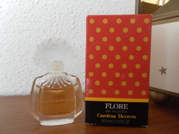 ACHAT IMMEDIAT;;;;;; MINIATURE FLORE DE CAROLINA HERRERA 4 ML EAU DE PARFUM - Modern Miniatures (from 1961)