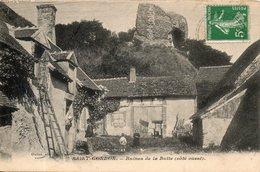45. Saint Gondon. Ruines De La Butte. Coté Ouest - Autres Communes