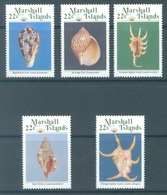 MARSHALL - 1987 - MNH/** - SHELL  - Mi 134-138 Yv 156-160 - Lot 16784 - Marshall