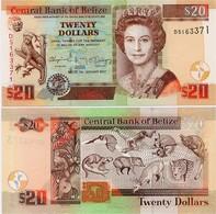 BELIZE       20 Dollars       P-69[f]       1.1.2017       UNC - Belize