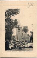 36. Environs De La Chatre. église Des Lacs Un Jour De Fête - La Chatre