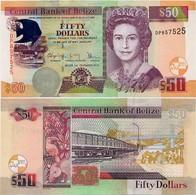 BELIZE       50 Dollars       P-70[f]       1.12.2016       UNC - Belize