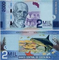 COSTA RICA       2000 Colones       P-275[c]       16.9.2015 (2018)        UNC - Costa Rica