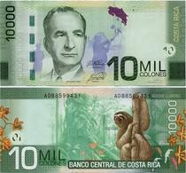 COSTA RICA       10,000 Colones       P-277[b]       10.9.2014 (2018)        UNC  [ 10000 ] - Costa Rica