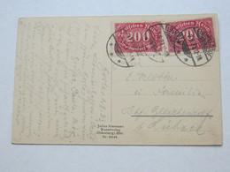 1923 , ELBINGERODE ,  Stempel Auf  Karte - Briefe U. Dokumente