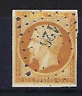 "FR YT 13A "" Napoléon III 10c. Bistre "" 1853 PC 126 ARGENTON-S-CREUSE - 1853-1860 Napoleon III"
