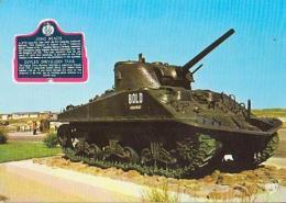 Militaria        H43        Courseuilles Sur Mer.Char Sherman - Materiale