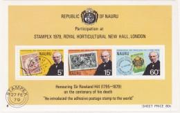 NAURU 1979 Rowland Hill Pack - Nauru