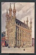 +++ CPA - LEUVEN  LOUVAIN - Hôtel De Ville - Vignette Foyer Des Orphelins  // - Leuven