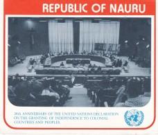 NAURU 1980 United Nations Stamp Pack - Nauru