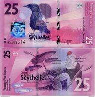 SEYCHELLES       25 Rupees       P-48       2016       UNC  [ Sign. Abel ] - Seychelles
