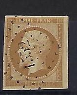 "FR YT 13A "" Napoléon III 10c. Bistre "" 1853 PC 1552 L'ISLE-S-LA-SORGUE - 1853-1860 Napoleon III"