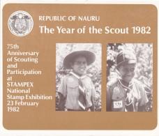 NAURU 1982 Year Of The Scout Stamp Pack - Nauru