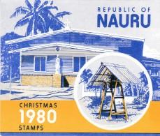 NAURU 1980 Christmas Stamp Pack - Nauru