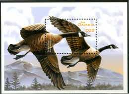 GAMBIA 2001** - Uccelli / Birds - Miniblock MNH, Come Da Scansione. - Uccelli