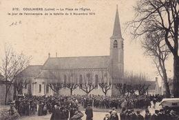 COULMIERS - La Place De L'église - Coulmiers