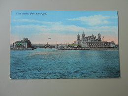 ETATS-UNIS NY NEW YORK CITY ELLIS ISLAND - Ellis Island