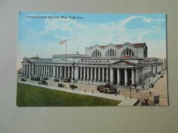 ETATS-UNIS NY NEW YORK CITY PENNSYLVANIA STATION - Transports