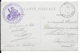 1916 - CARTE FM De La SOUS INTENDANCE SPECIALE De La PLACE De DORAT (HAUTE VIENNE) - Guerra Del 1914-18