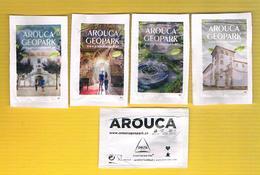 1283) - Série Complete 4 Sachets Sucre Vides - Cafés Delta (Arouca-Geoparque)  2018- Portugal - Sugars