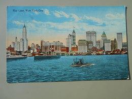 ETATS-UNIS NY NEW YORK CITY SKY LINE - Multi-vues, Vues Panoramiques