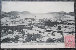 Caledonie Nouvelle Noumea Entrée De La Passe Cpa Timbrée 1911 - New Caledonia